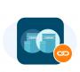 Merge Duplicates Icon with bg