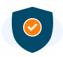 Secure Icon with bg